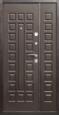 Дверь металлическая ЙОШКАР (ДВУПОЛЬНАЯ)